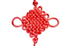 Chinesischer glücklicher Knoten Stockbild