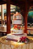 Chinesischer Hochzeitskuchen Stockbilder