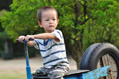 Chinesischer Junge Stockfotografie