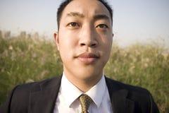Chinesischer junger Mann Stockfoto