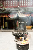 Chinesischer kleiner Tempel lizenzfreie stockfotografie