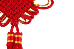 Chinesischer Knoten Stockfoto