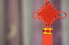 Chinesischer Knoten Stockfotografie