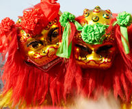 Chinesischer Löwetanz Lizenzfreie Stockfotografie