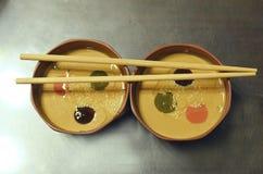 Chinesischer Lebensmittelbaseball Stockfoto