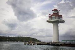 Chinesischer Leuchtturm lizenzfreies stockbild