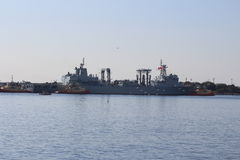 Chinesischer Marine-Goodwill-Ausflug Stockbilder