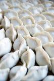 Chinesischer Mehlkloß (Jiaozi) Stockfoto