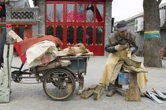 Chinesischer Messerschleifer Stockfotografie