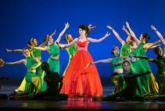 Chinesischer moderner Tanz Stockfotografie