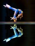 Chinesischer moderner Tanz: Klinge-Orchidee Stockfoto