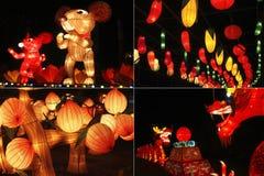 Chinesischer Mondkalender neuer Yea Stockfotografie
