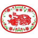 Chinesischer neues Jahr-Drache Stockfotos