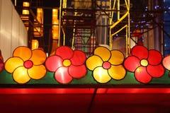 Chinesischer neues Jahr-Tempel angemessen in Panjin Stockfotos