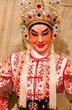Chinesischer Operenschauspielerin lizenzfreie stockfotos