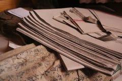Chinesischer Papierstapel lizenzfreies stockbild