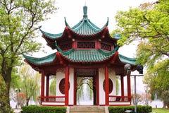 Chinesischer Pavillion. Lizenzfreies Stockfoto