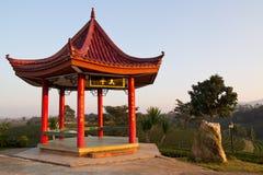 Chinesischer Pavillon Lizenzfreie Stockfotografie