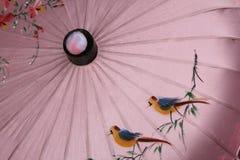 Chinesischer Regenschirm-Anstrich Lizenzfreie Stockbilder