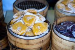 Chinesischer Reis-Kuchen Stockbilder