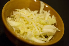 Chinesischer Salat Lizenzfreies Stockfoto