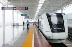 Chinesischer Schnellzug Lizenzfreies Stockfoto