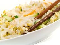 Chinesischer Sojabohnen-Salat Stockfoto