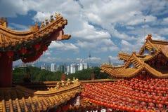 Chinesischer Tempel. Lizenzfreies Stockfoto