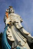 Chinesischer Tempel arbeitet Pattaya Thailand im Garten Lizenzfreie Stockfotos