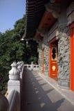 Chinesischer Tempel-Eingang Lizenzfreie Stockfotos