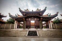 Chinesischer Tempel in Macau lizenzfreies stockbild