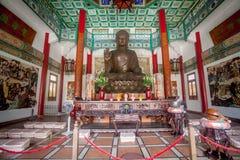 Chinesischer Tempel in Macau lizenzfreie stockfotos