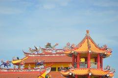 Chinesischer Tempel in Sekinchan Lizenzfreie Stockbilder