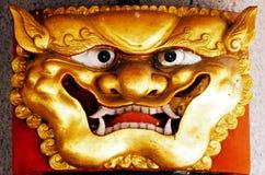 Chinesischer Tempel in Singapur Lizenzfreies Stockbild