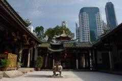 Chinesischer Tempel in Singapur Stockbild