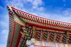 Chinesischer Tempel in Thailand Stockfotografie