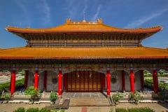 Chinesischer Tempel in Thailand Lizenzfreies Stockfoto