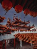 Chinesischer Tempel Thean Hou in Kuala Lumpur stockfotografie