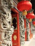 Chinesischer Tempel von Lantau Stockbilder