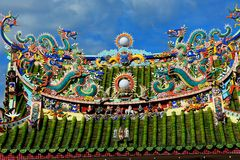 Chinesischer Tempel Yaps Kongsi, Georgetown, Malaysia lizenzfreies stockbild