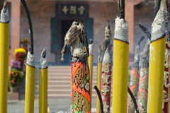 Chinesischer Tempelduft lizenzfreie stockbilder