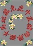 Chinesischer Tierkreis Stockbilder