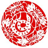 Chinesischer Tierkreis des Schlange-Jahres Lizenzfreie Stockfotos