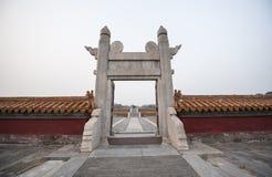 Chinesischer Torbogen Stockbilder