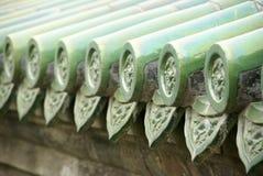 Chinesischer traditioneller Aufbau Stockbild