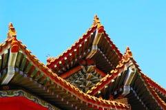 Chinesischer traditioneller Aufbau stockfoto