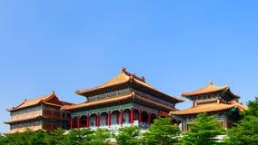 Chinesischer traditioneller Tempel Lizenzfreies Stockbild
