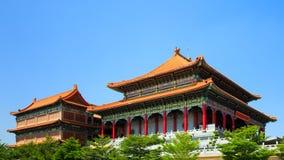 Chinesischer traditioneller Tempel Stockbild