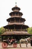 Chinesischer Turm Стоковое Изображение