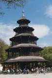 Munich - Chinesischer Turm Royalty Free Stock Photos
